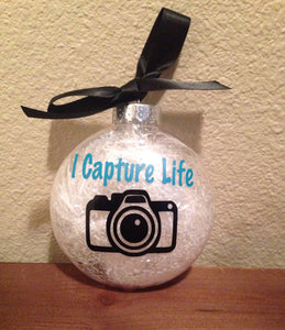 CHRISTMAS Ornament, Capture Life, Camera, Photography, Photographer, Christmas Tree Decor