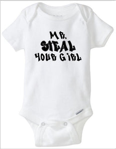 Mr Steal Your Girl, Funny Baby Boy Onesie