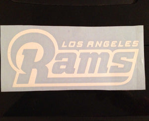 Los Angeles Rams Decal | Football Decal | St Louis Rams Football Team Sticker Decal LA