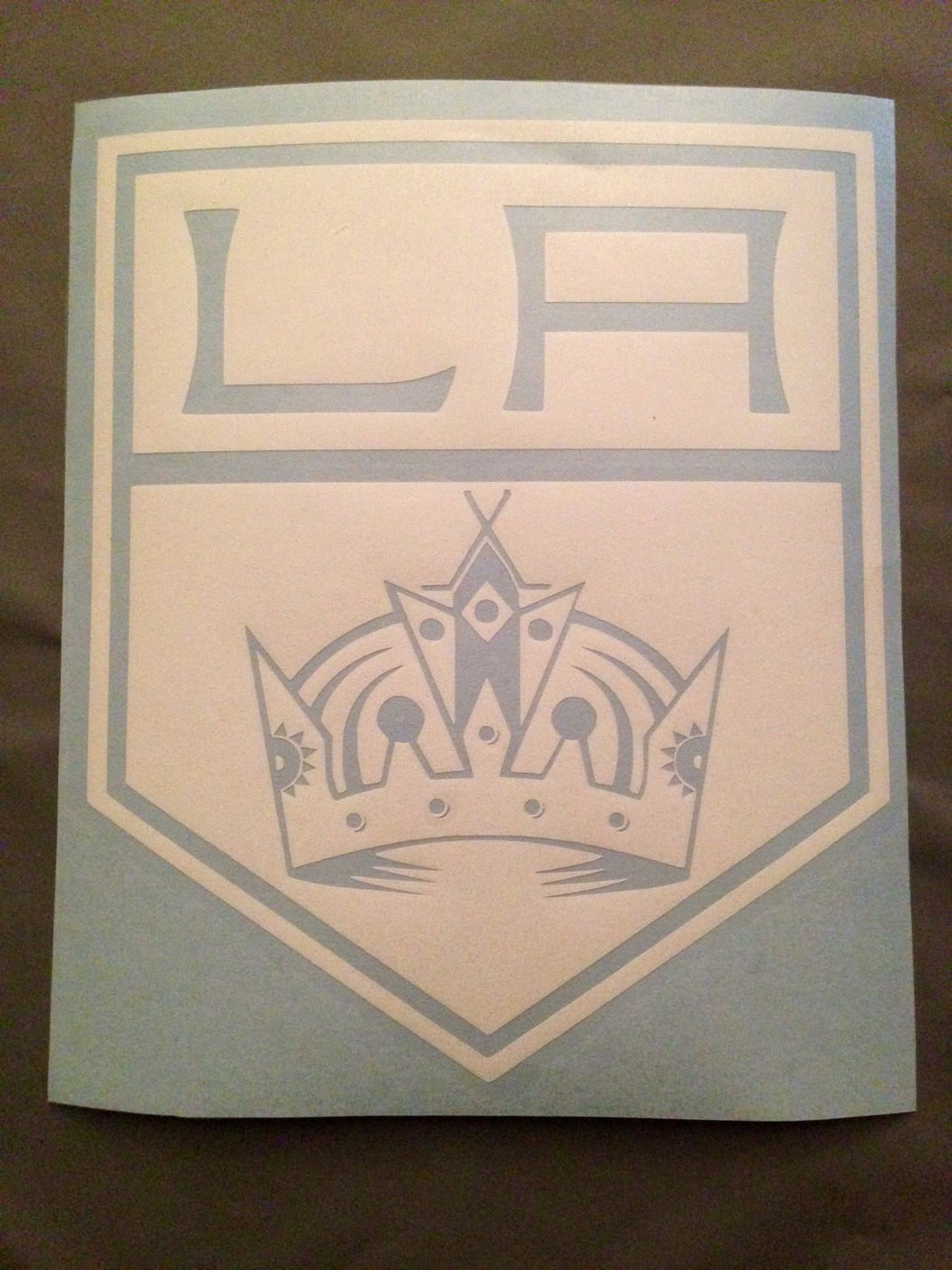 LA Kings Decal Los Angeles Kings | Hockey Crown Sticker Decal | Go Kings Go | Sports Vinyl Car Sticker