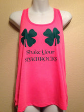 SHAKE your SHAMROCKS Womens Tank Top, St Patricks Day