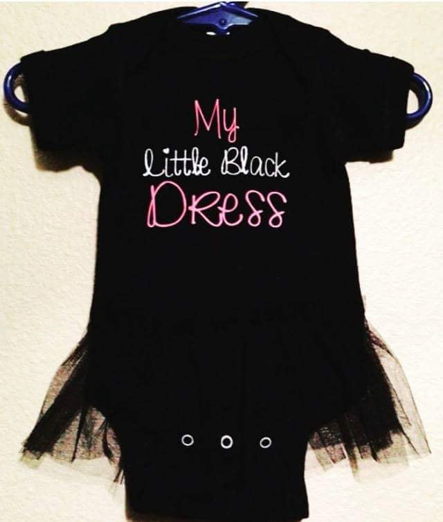 My Little Black Dress, Baby Girl Ballerina Tutu
