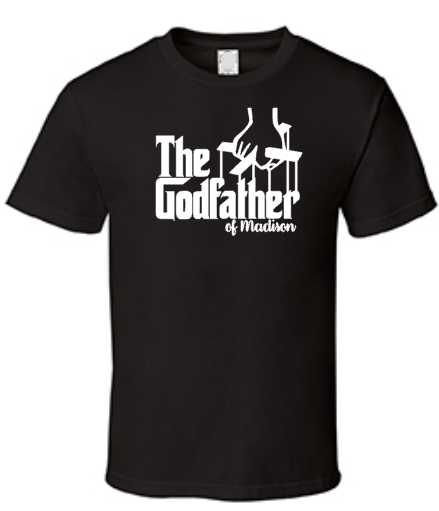 The Godfather Men's Shirt, Custom Personalized, Godparents Godchild
