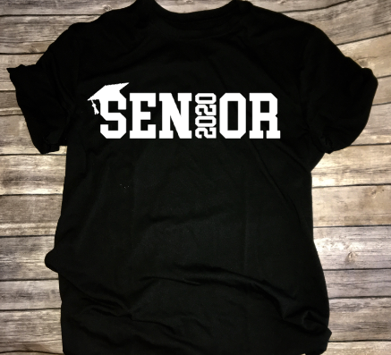 Senior 2020 Shirt Grad Graduation