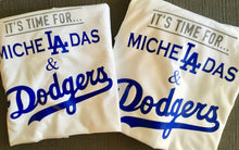 It's Time for Micheladas and Dodgers Baseball Shirt LA