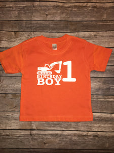 Toddler Kids Birthday Boy Construction Tractor Demolition Crew Shirts Matching