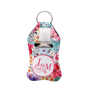 Sublimation Linen Neoprene Hand Sanitizer Bottle Sleeve by INNOSUB USA
