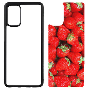 Rubber Sublimation Blank Case Compatible with Galaxy by Innosub Usa