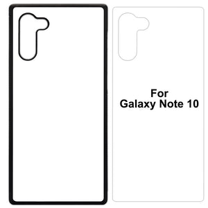 Rubber/Plastic Sublimation Blank Case Compatible with Samsung Galaxy Note - by INNOSUB USA