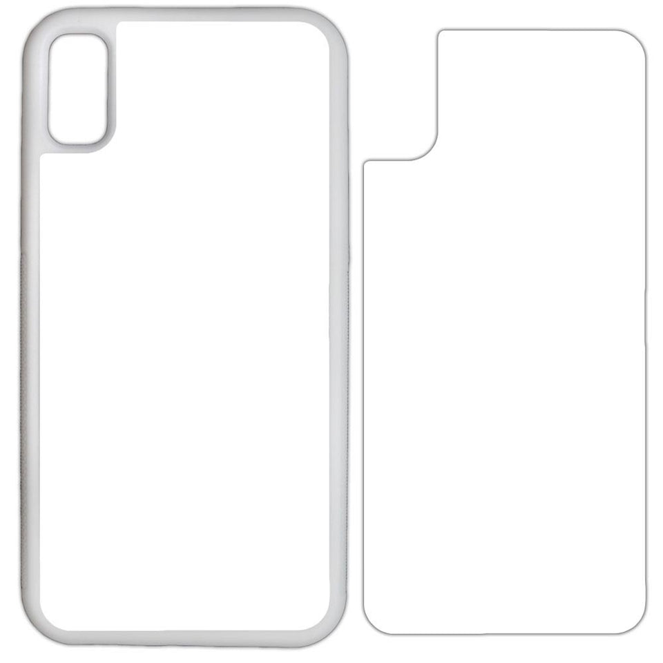 Sublimation Blank Case Compatible with Apple iPhone All Models - by INNOSUB USA - Plastic