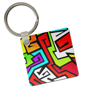 Sublimation 2-Sided Keychain / Keytag by INNOSUB