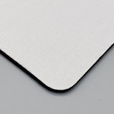 White Sublimation Blank Rectangle Mouse Pad