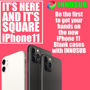 Sublimation Blank Case for Apple iPhone All Models by INNOSUB - PLASTIC