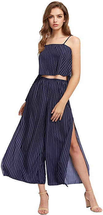 Belle Striped Set - GlogeStore