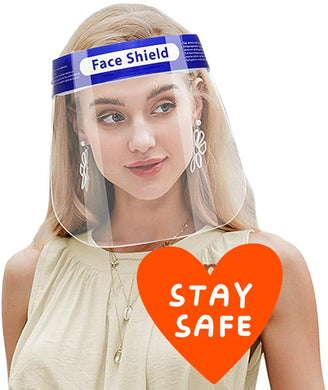 2 Pieces Of Reusable Face Shields - GlogeStore
