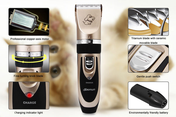 Electrical Pet Hair Clipper