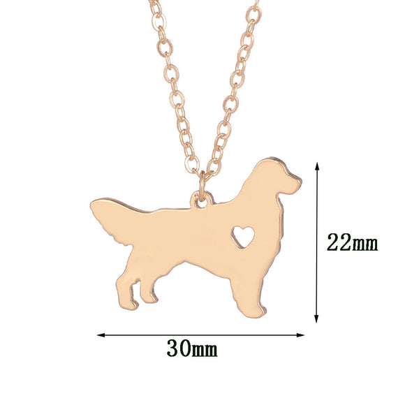 Golden Retriever Necklace & Pendant