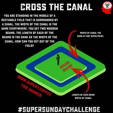 Cross The Canal Puzzle