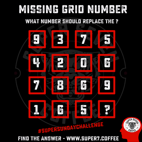 MISSING GRID NUMBER CHALLENGE