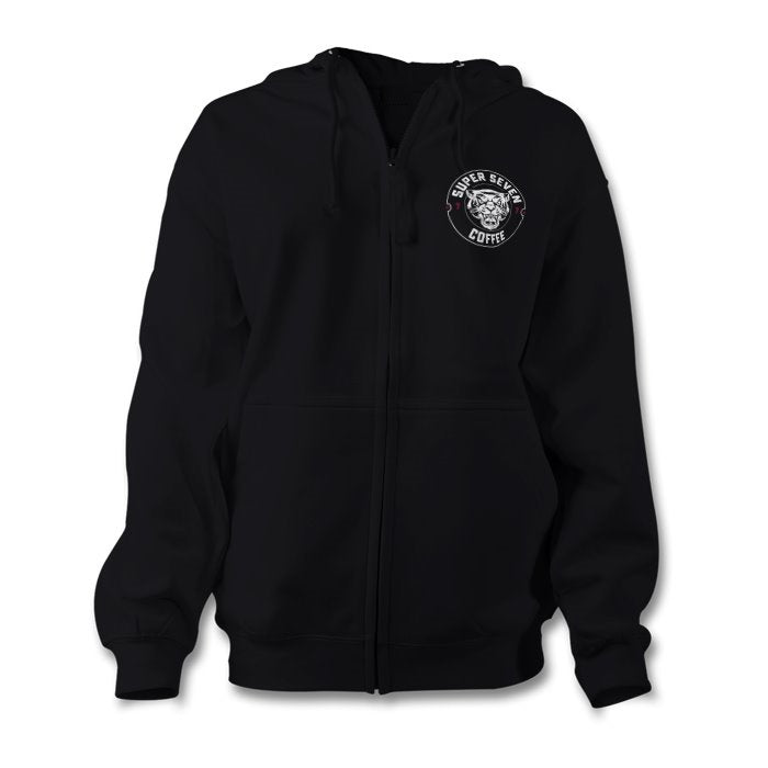 Womens S7C Zip Up Hoodie