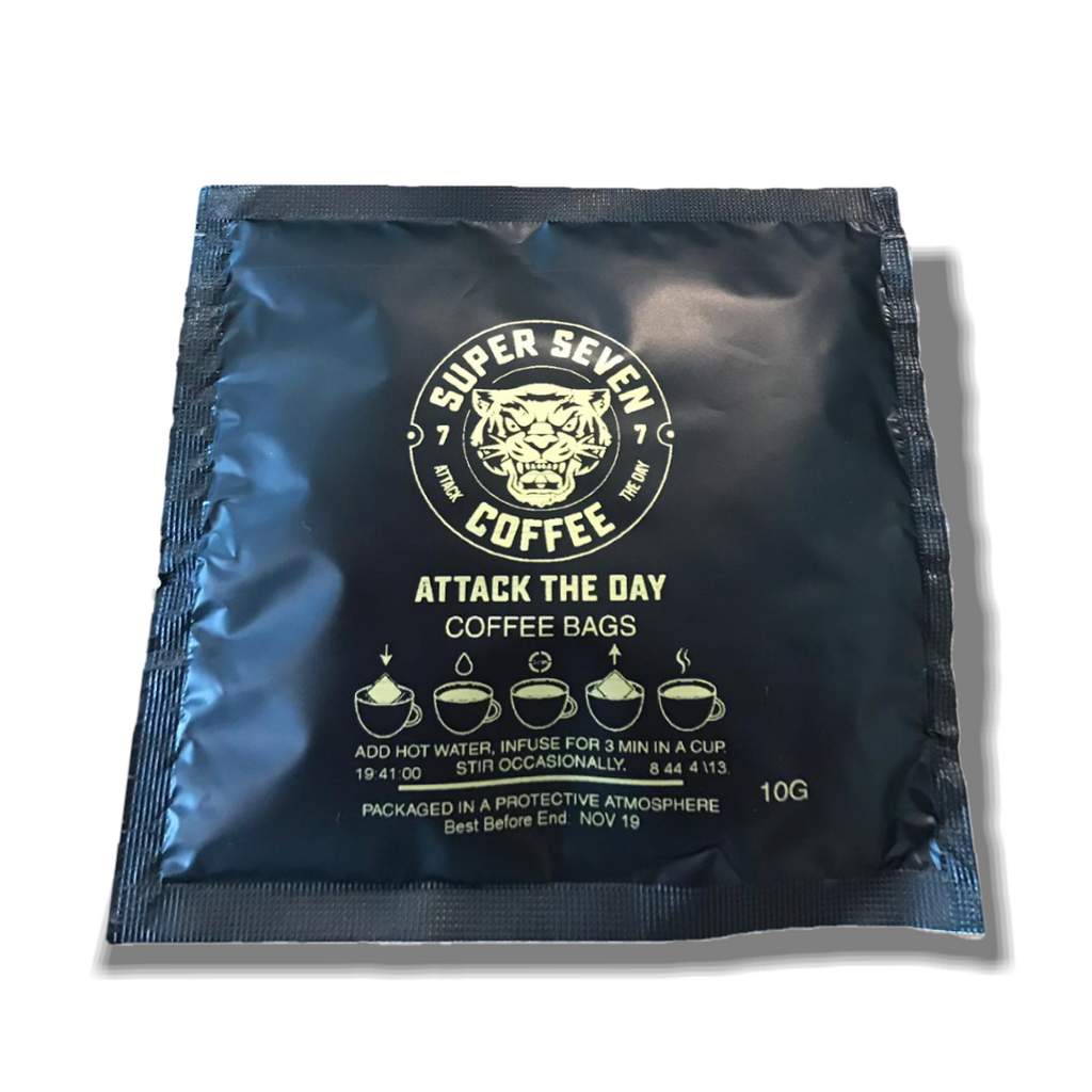 Attack The Day Coffee Bags