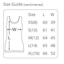 Tank Top Sizing