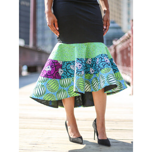 Mermaid Ankara Skirt