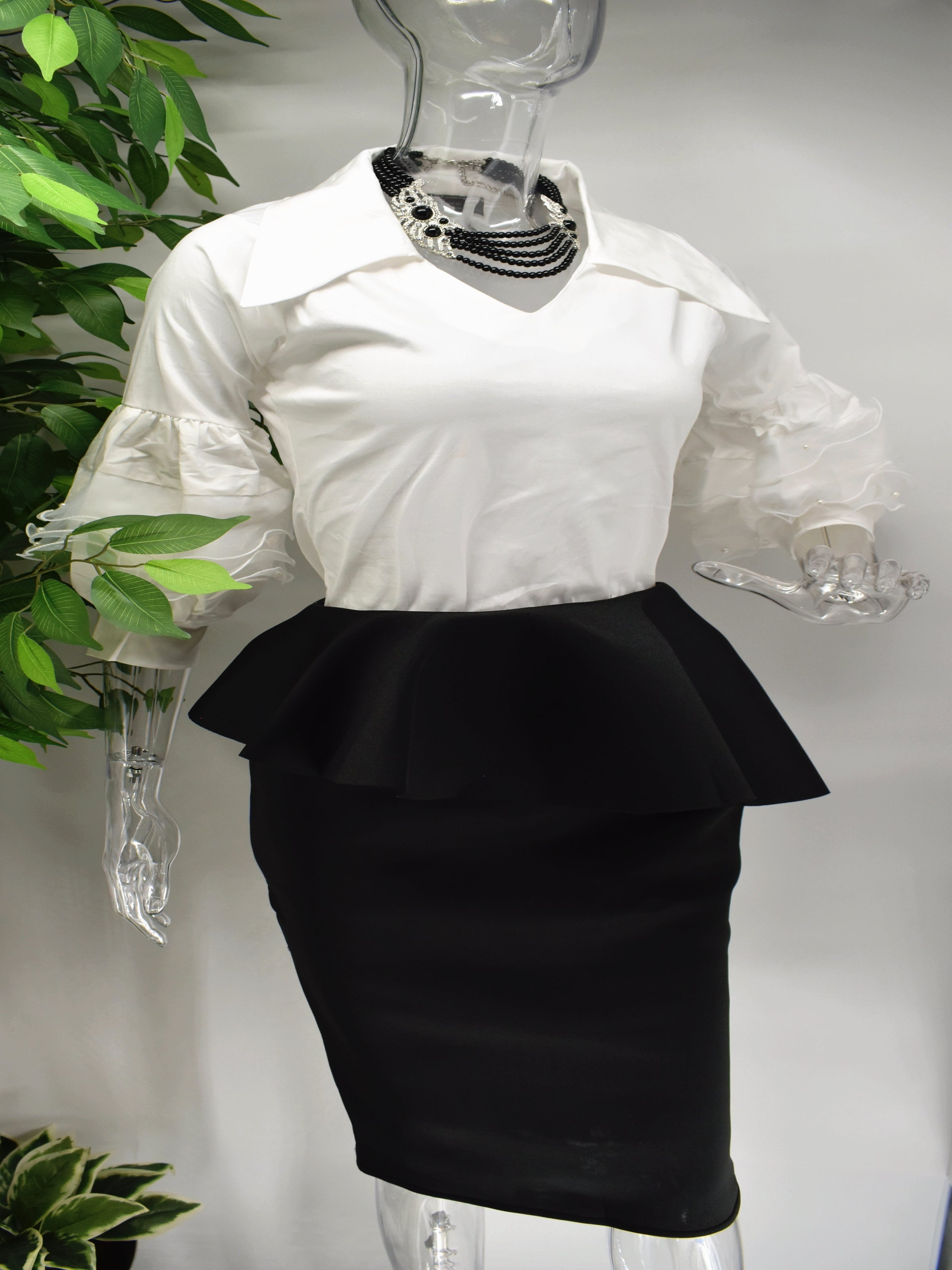 Belita White Shirt Top