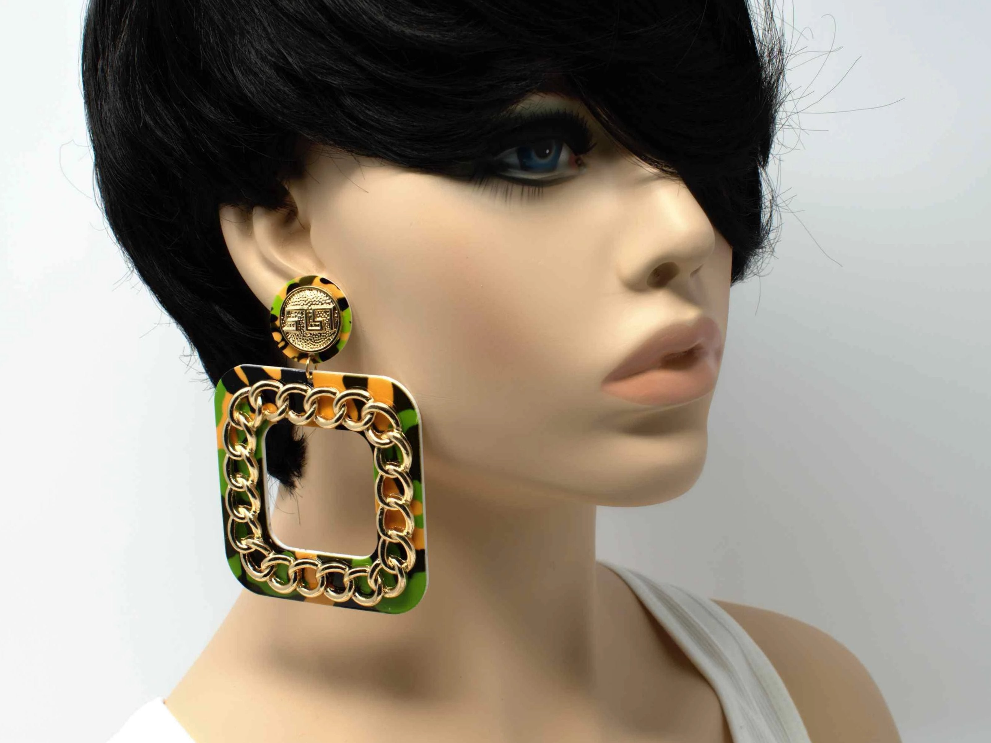 Camie Square Statement Earrings