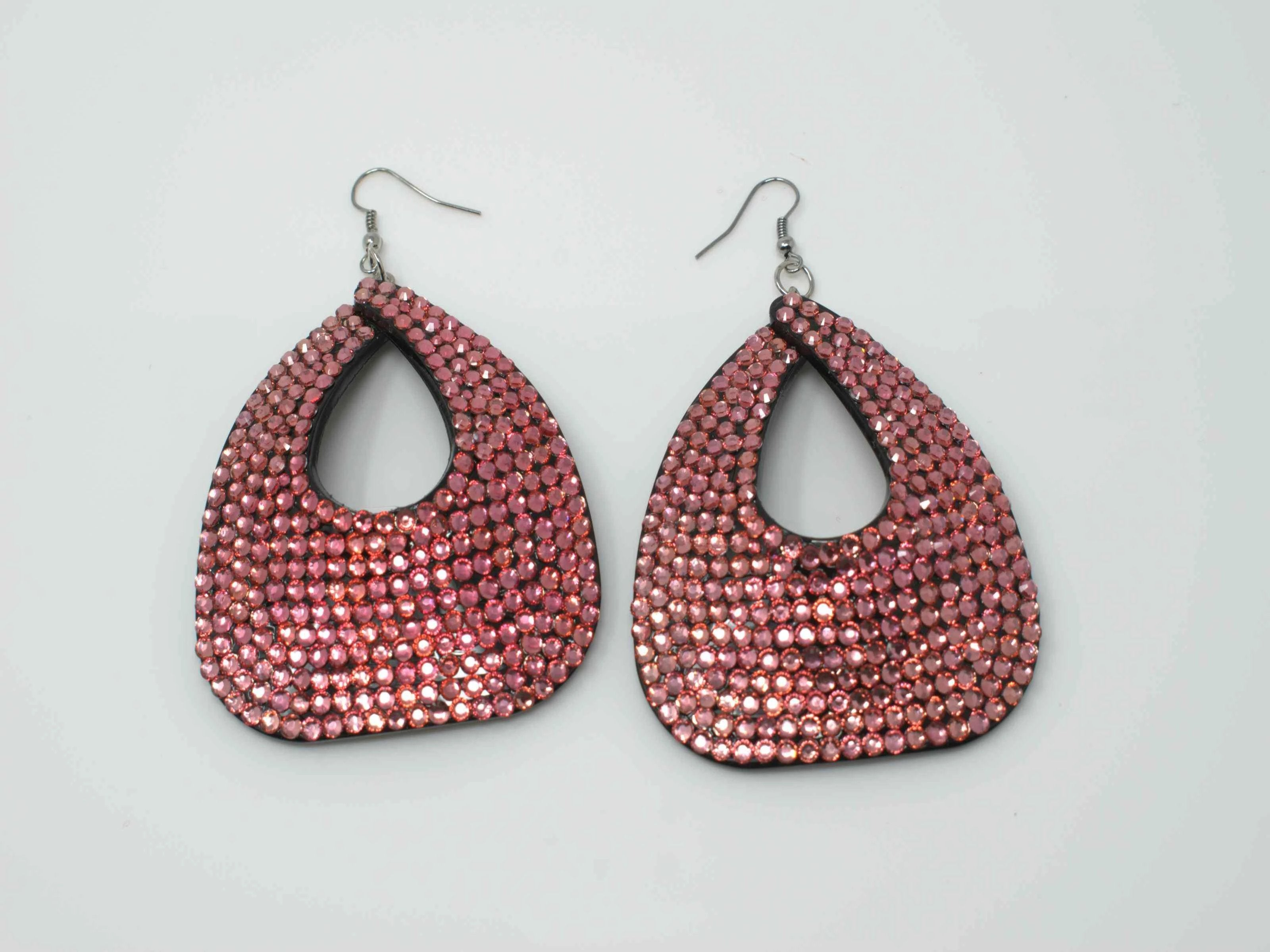 Pamela Pink Stone Earrings