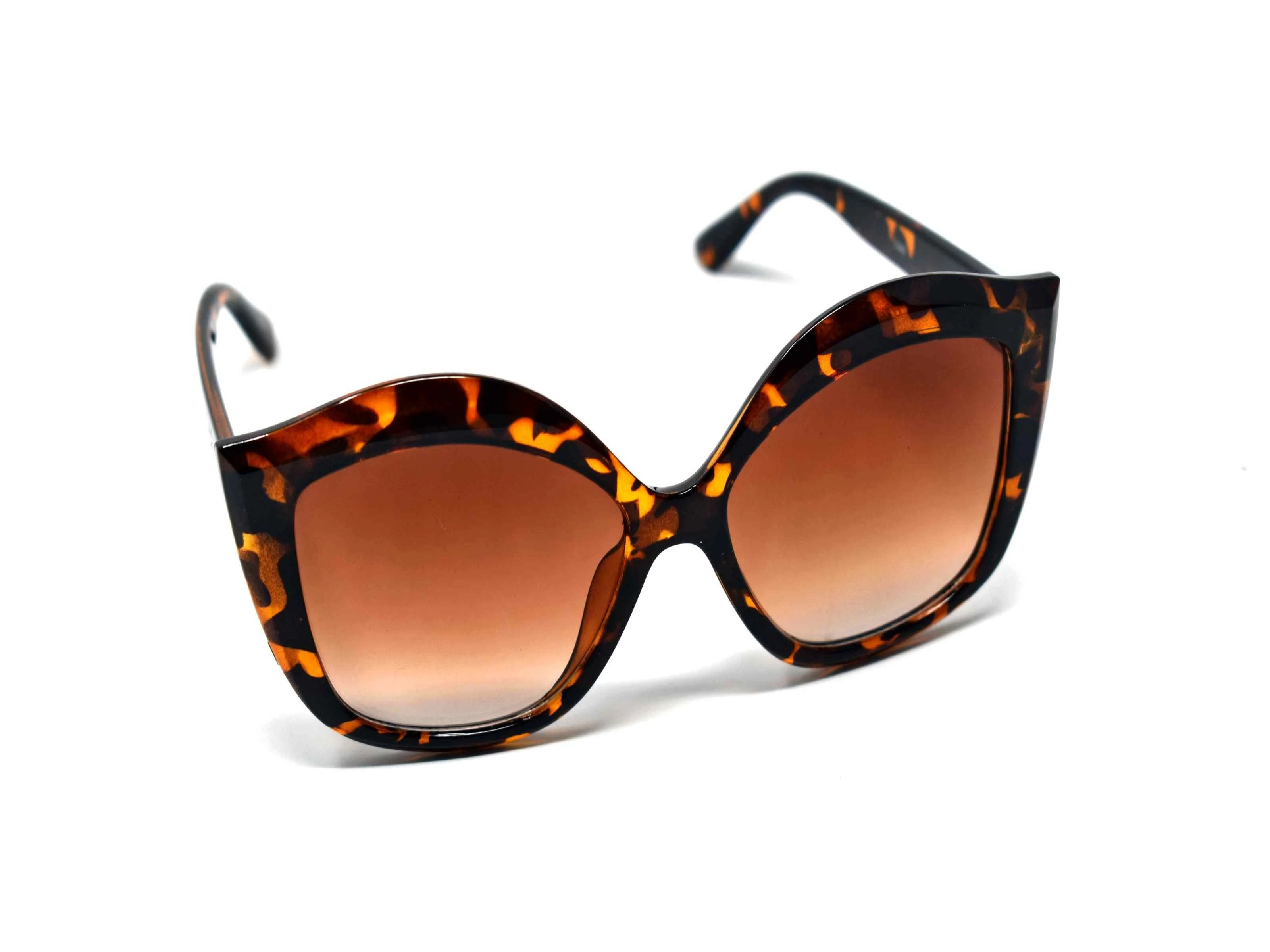 Petal Brown Lens Sunglasses Leopard