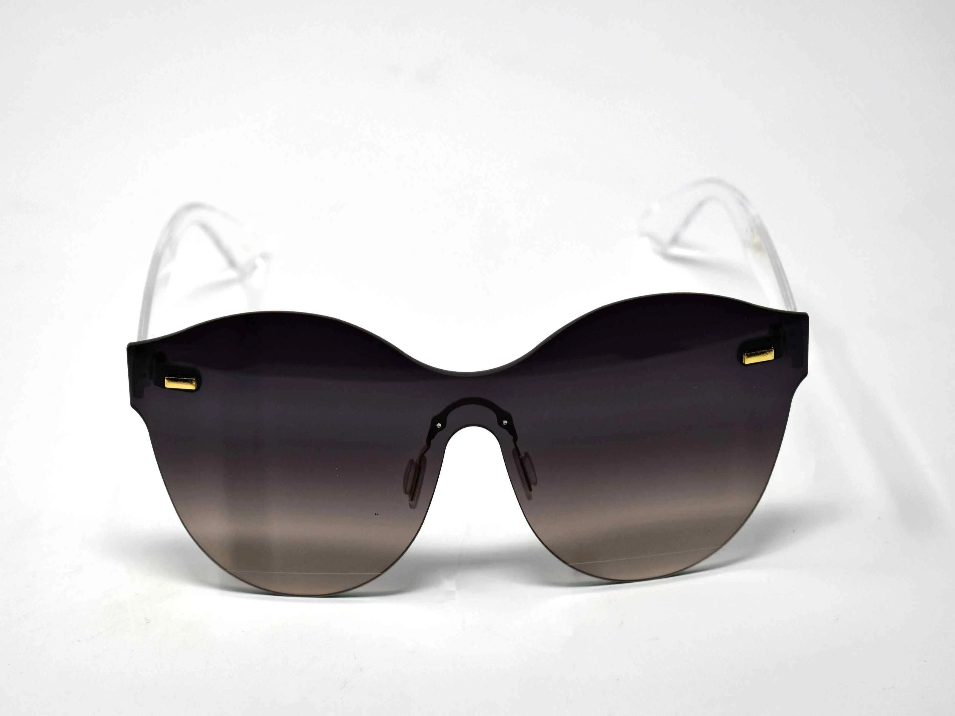 Sage Black To Gray Ombre Lens Sunglasses Clear