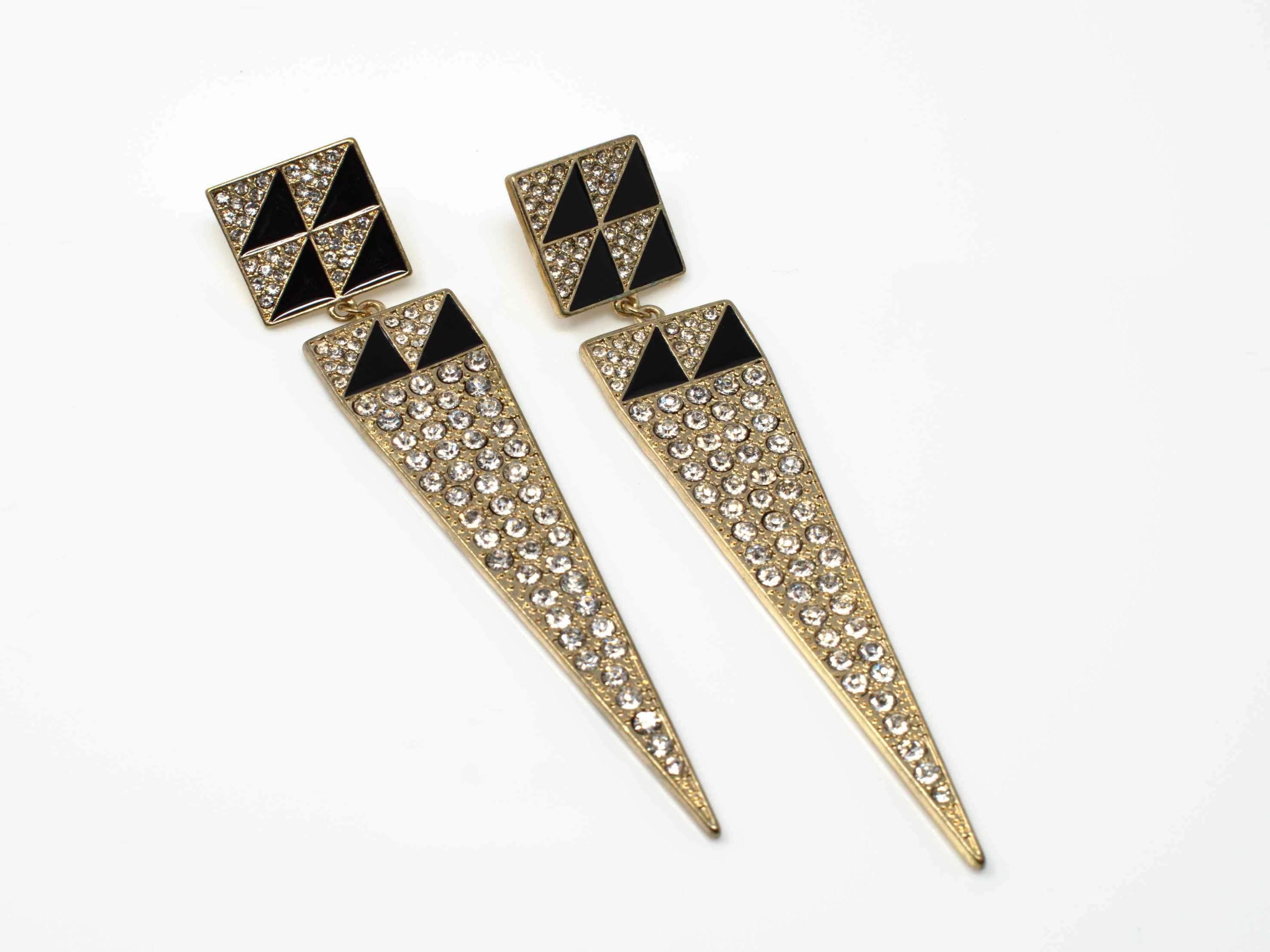 Sharon Gold Drop Earring