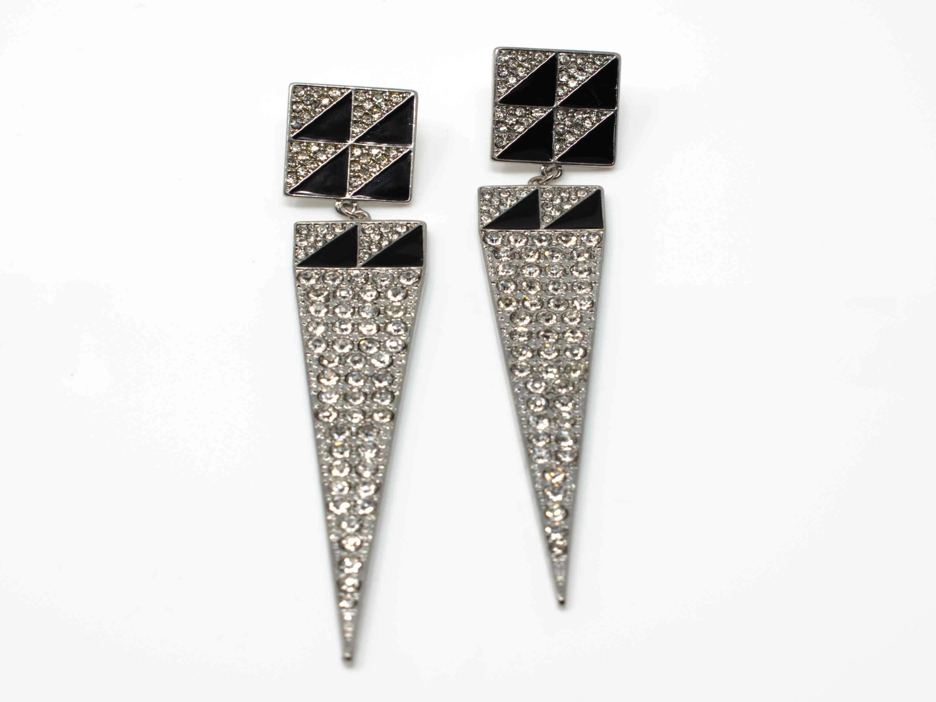 Sharon Silver Drop Earring