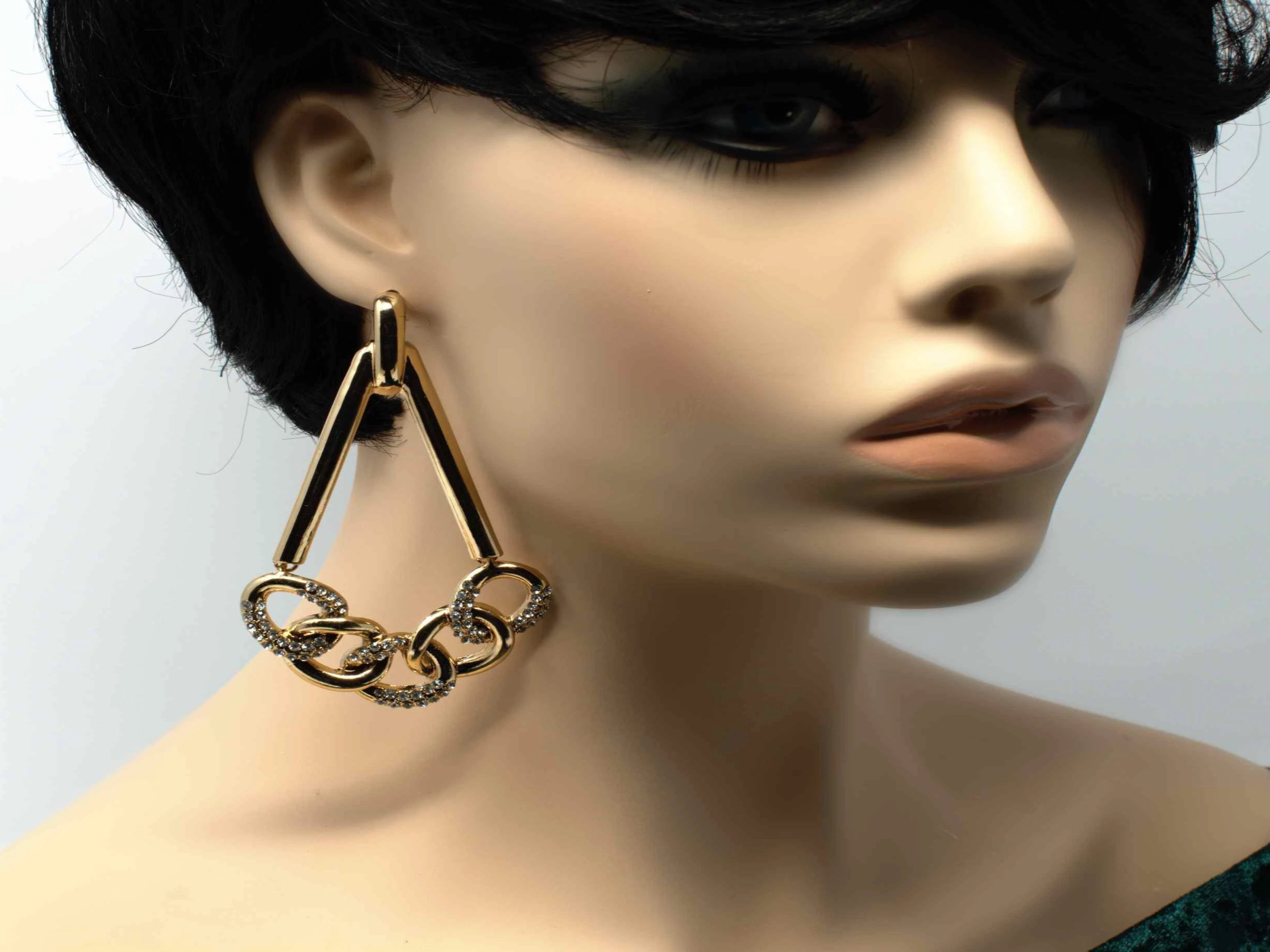 Shelby Gold Drop Dangle Earrings