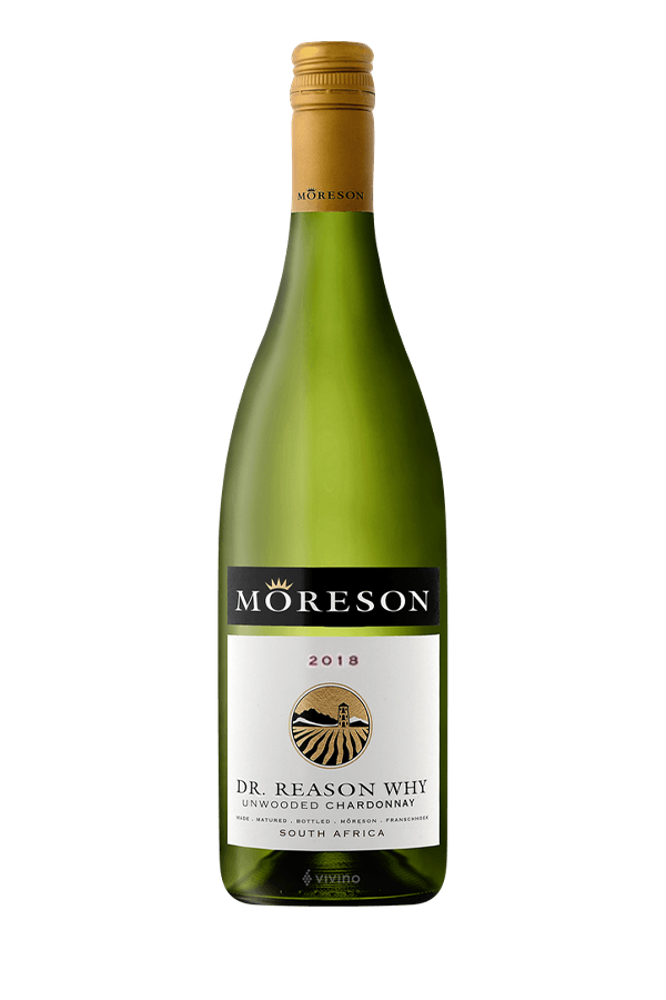 2018 Dr Reason Why Chardonnay Moreson Franschhoek