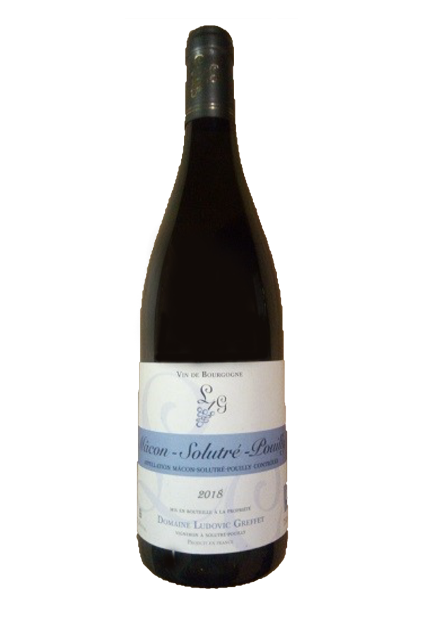 2018 Domaine Ludovic Greffet Macon-Solutre-Pouilly