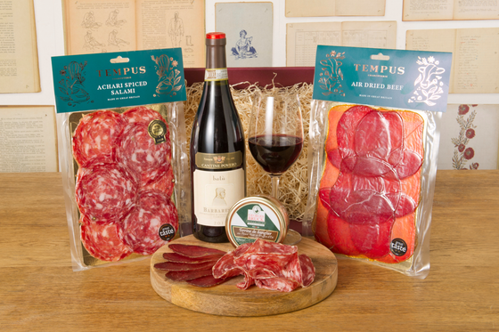 Award Winning Charcuterie, Terrine and Barbaresco