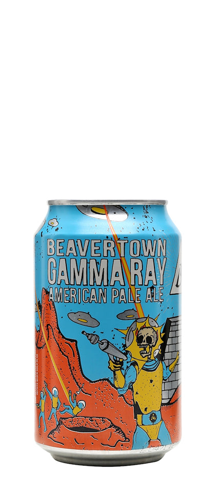 Gamma Ray American Pale Ale Can Beavertown Brewery London England