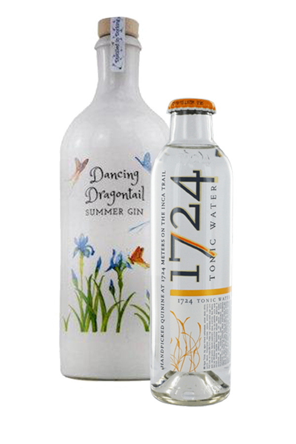 Dancing Dragontail Gin 48% 70cl + Premium Tonic Bundle