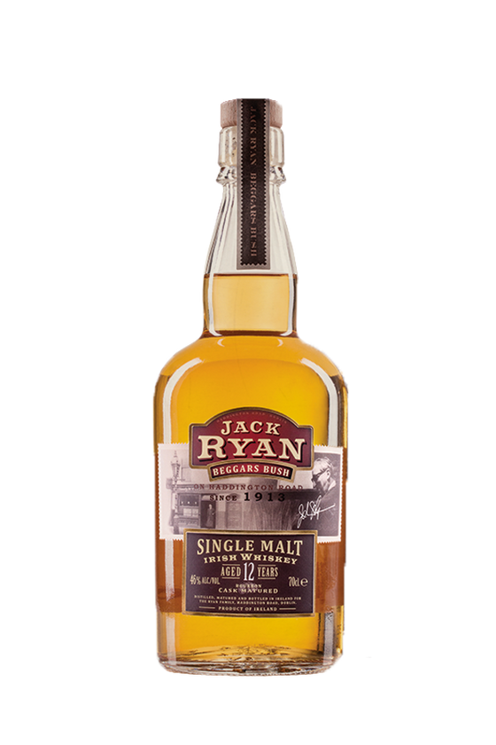12yo Jack Ryan Single Malt Irish Whiskey