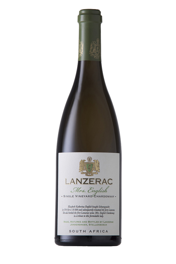 2018 Lanzerac Mrs English Chardonnay