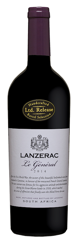 2015 Le General, Lanzerac Estate, Stellenbosch, South Africa