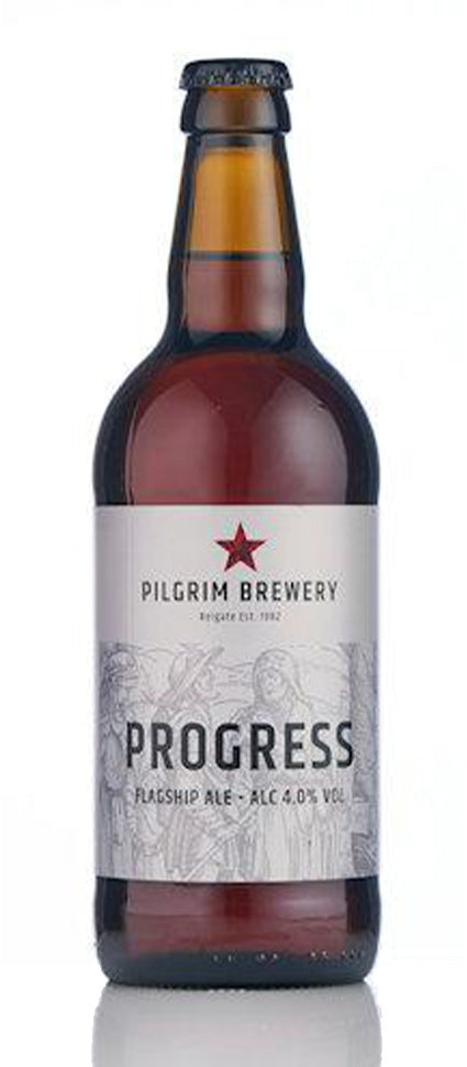 Pilgrim Brewery Progress