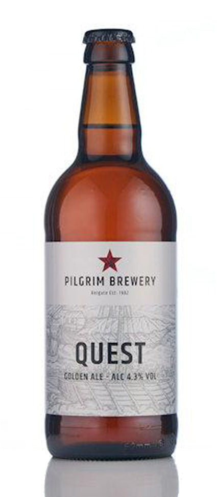 Pilgrim Brewery Quest Golden Ale