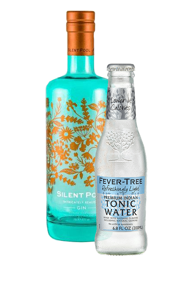 Silent Pool Gin 43% 70cl & Tonic Bundle