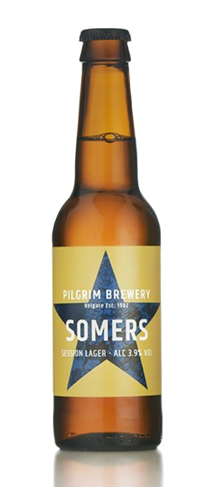 Somers Session Lager Pilgrims Brewery
