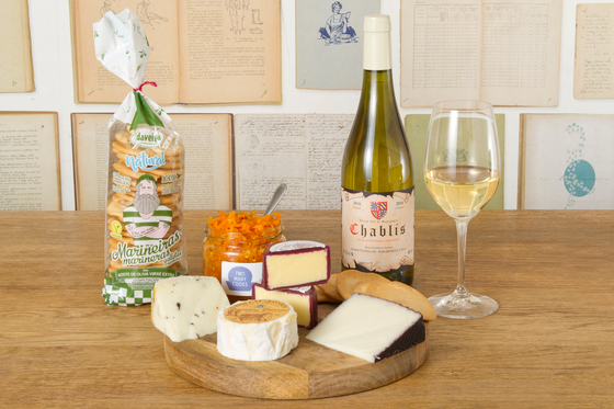 The Vineking – Cheese & Wine pack (White)