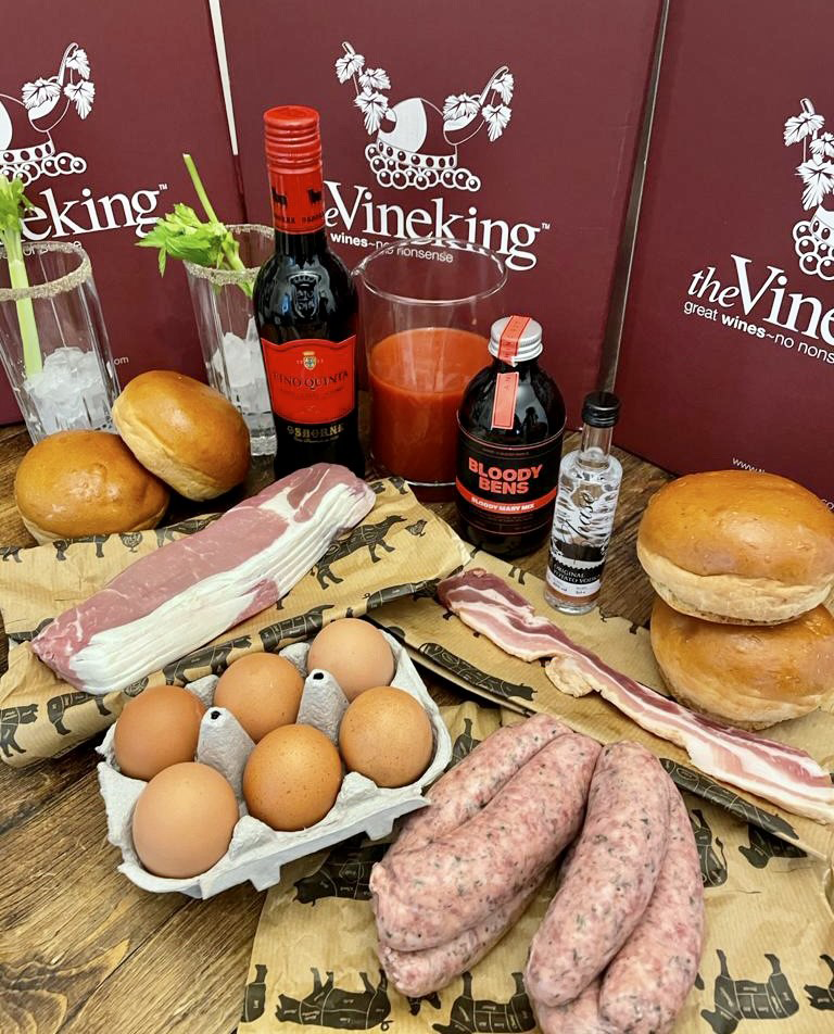 The Reigate Royal Ultimate Brunch Box