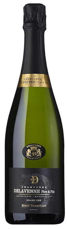 NV Brut Tradition Grand Cru, Delavenne Pere et Fils, Champagne, France